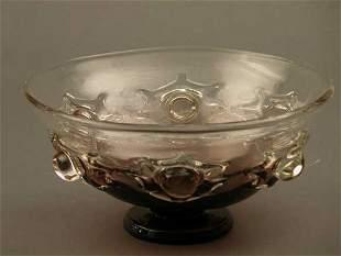 Amethyst Pedestal Bowl