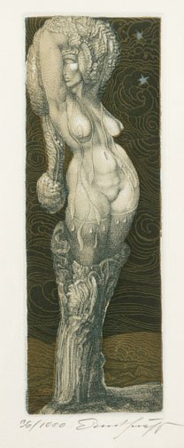 4: UNKNOWN 20TH CENTURY ARTIST. Fantastical F