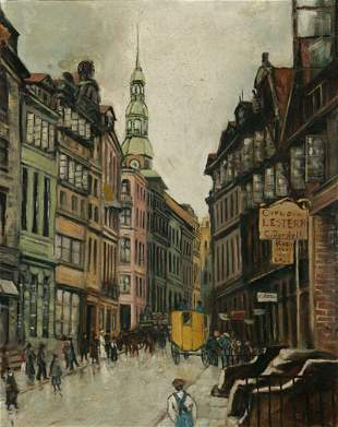 19TH – 20TH CENTURY ARTIST UNKNOWN. City