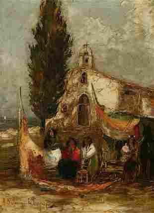 SALOMON LE TROPEZIEN (Fr., 20th cent.) Fi