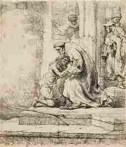 140: REMBRANDT  VAN RIJN (Dut., 1606 – 1669)