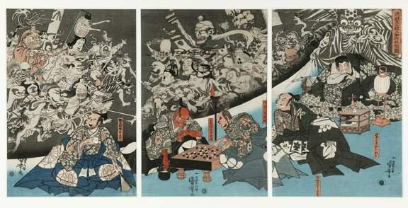 114: UTAGAWA KUNIYOSHI (Jap., 1786 - 1864)  T