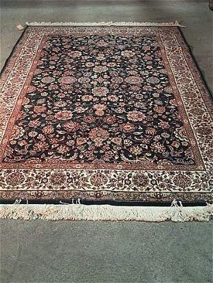 KASHAN STYLE, Late 20th century. Approx. 8