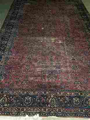 SAROUK CARPET, early 20th century. Approx