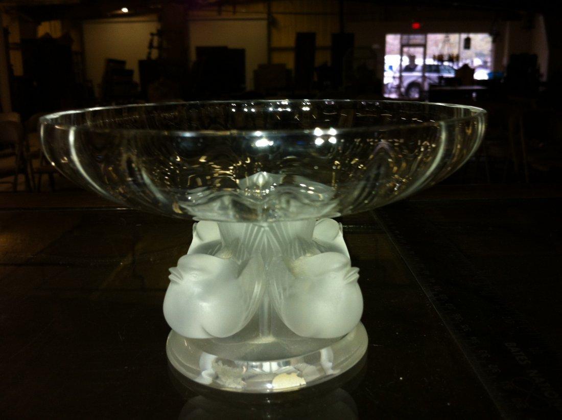 1009: Lalique Nogent Bowl