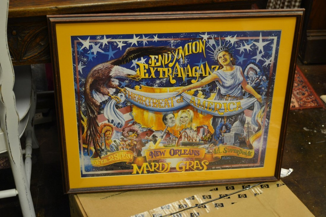 1078: Endymion Extravaganza Framed Poster 1981