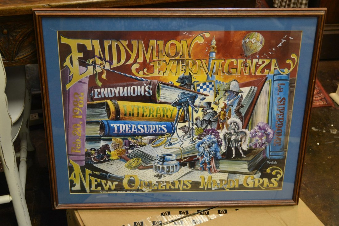 1079: Endymion Extravaganza Framed Poster 1982