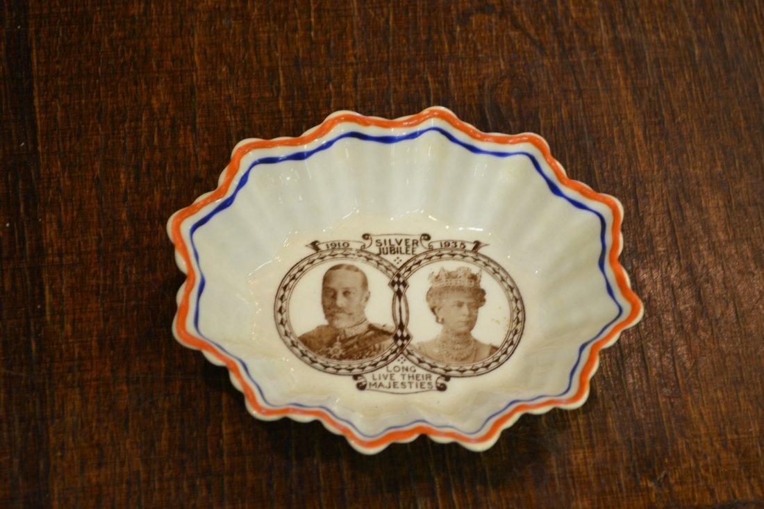 1142: Royal Albert King George V Silver Jubilee Dish