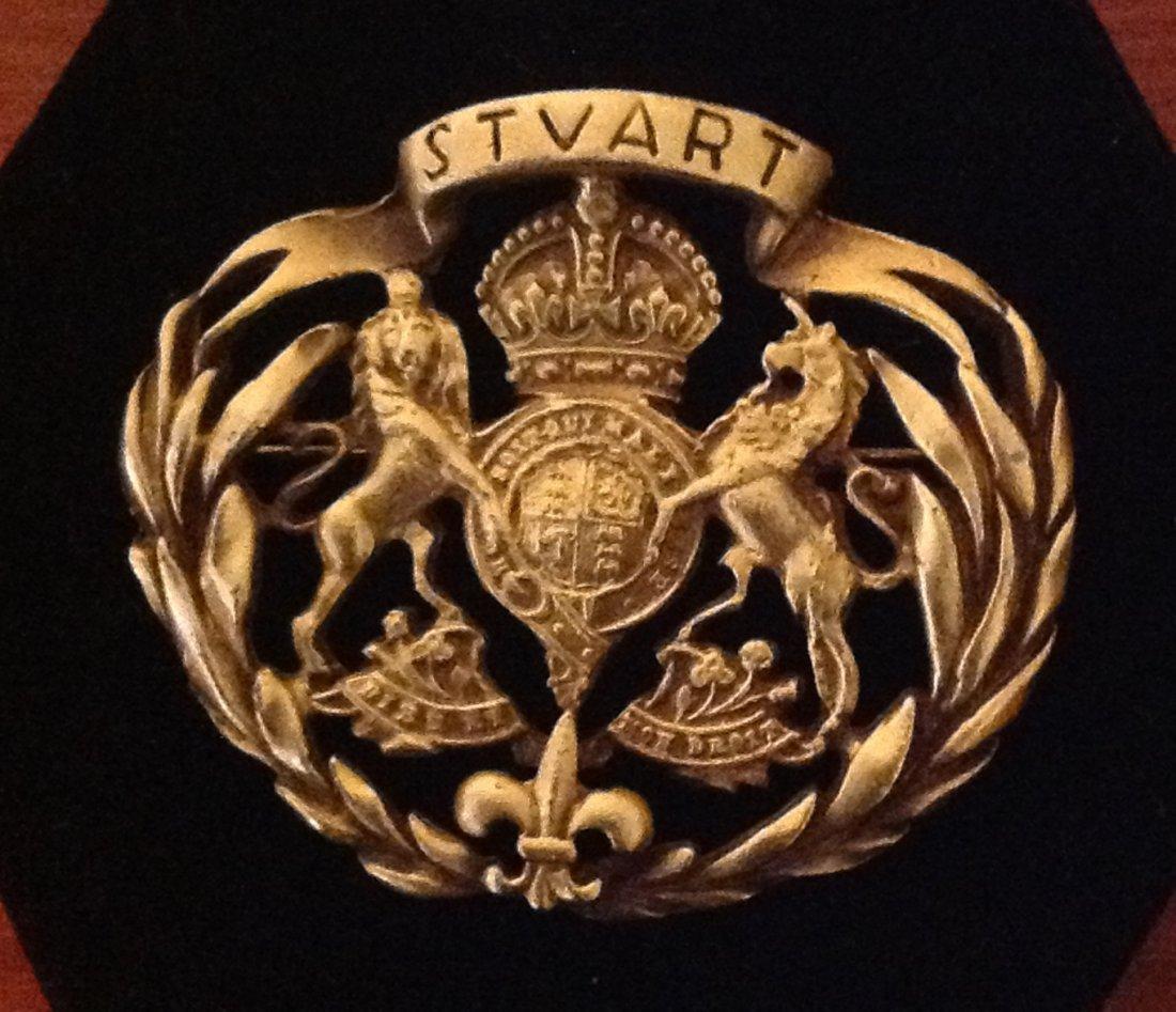 House of Stuart Royal Crest Brooch