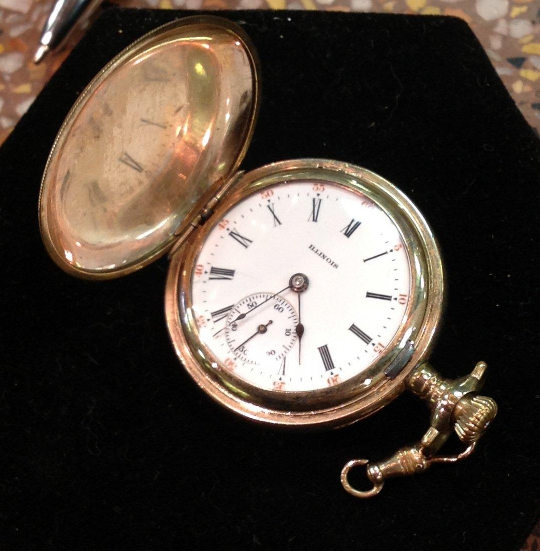 Antique Illinois Women's Pocket Watch; 42.1 total wt