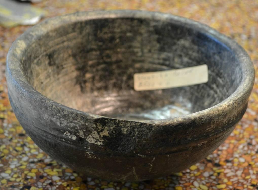 Prehistoric Steatite Arabian Bowl
