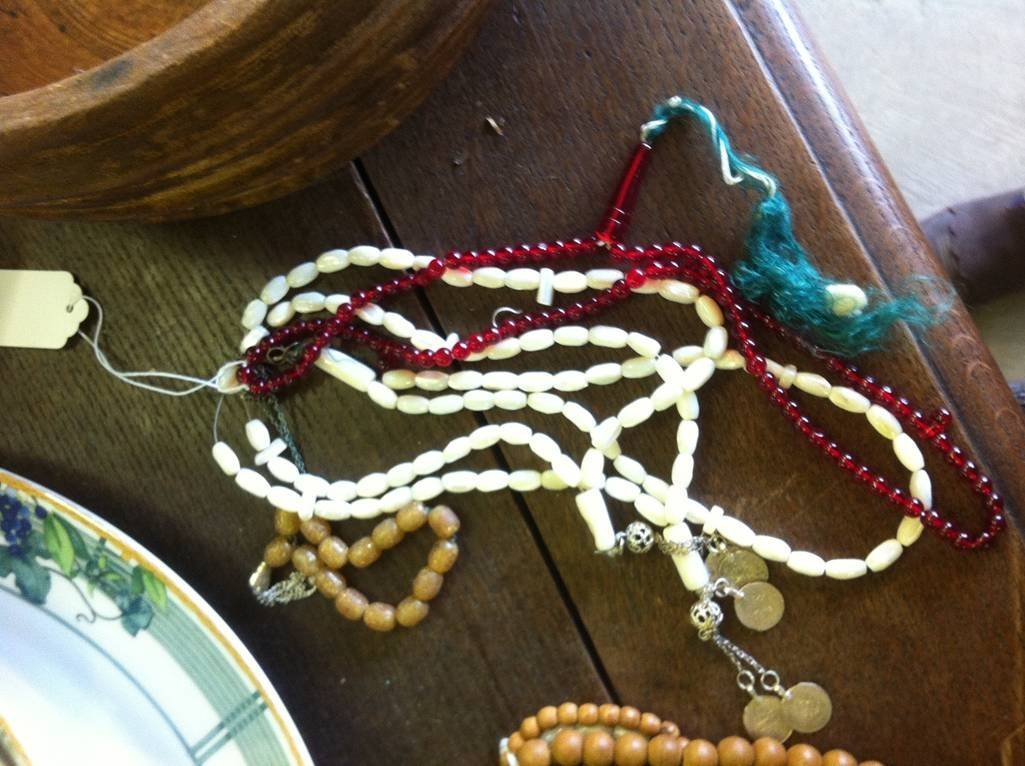 Lot of 5 Middle Eastern Prayer Beads