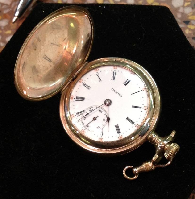 Antique Illinois Women's Pocket Watch