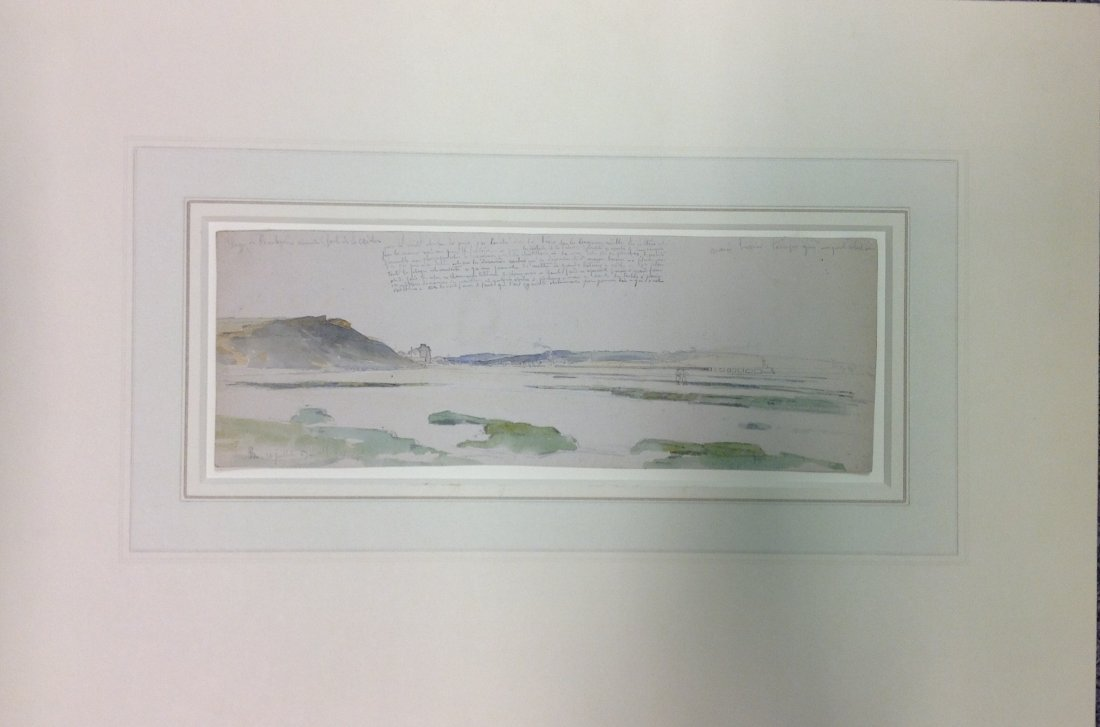 8: PIERRE-ALEXANDRE POITEVIN 1782-1859 BOULOGNE BEACH A