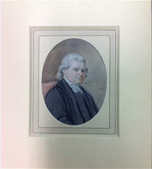 JOHN RAPHAEL SMITH 1752-1812 PORTRAIT OF THE REV. MA