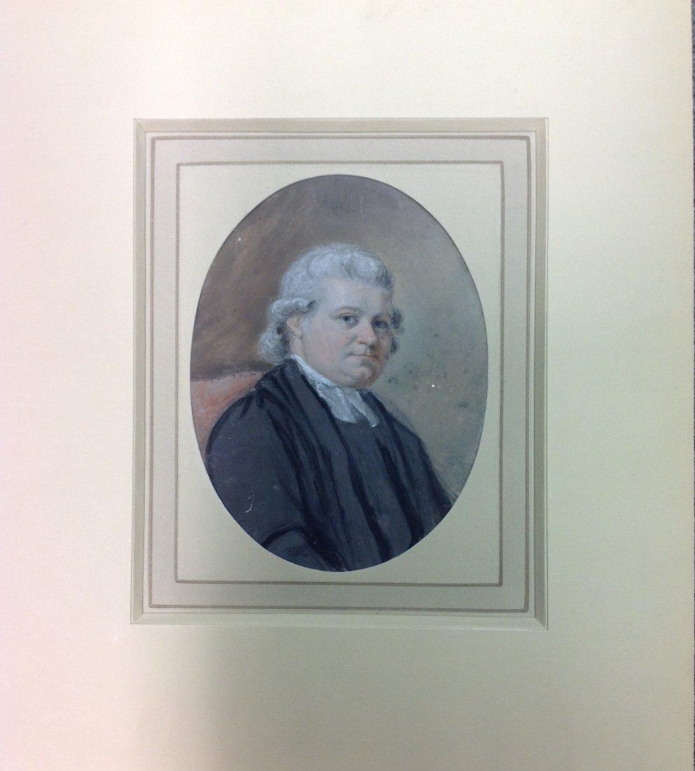 9: JOHN RAPHAEL SMITH 1752-1812 PORTRAIT OF THE REV. MA