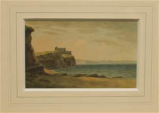 JOHN WARWICK SMITH 1749-1831 BOW AND ARROW CASTLE,
