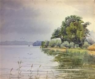 GEORGE ADOLPHUS STOREY RA 1834-1919 A FOLIO OF WATE