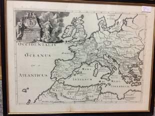 LITTRET DE MONTIGNY, AFTER LE ROY, 19TH CENTURY MAP