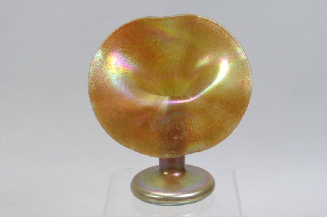 Art Glass Jack-in-the-Pulpit Vase,