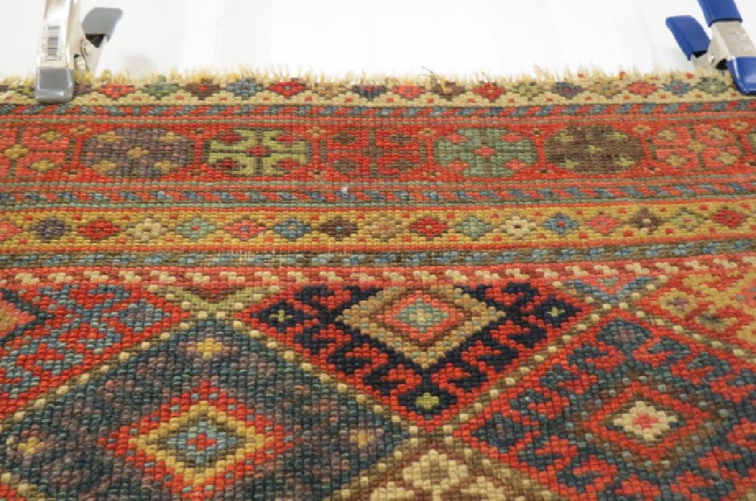 Antique Kurdish Handmade Tent Flap or Rug, - 6