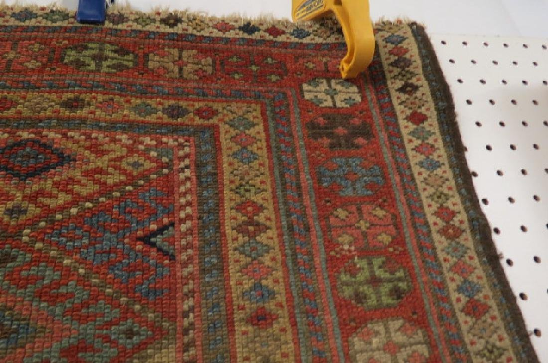 Antique Kurdish Handmade Tent Flap or Rug, - 7