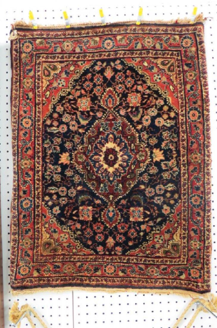 Ferrahan Sarouk Persian Handmade Mat, antique,