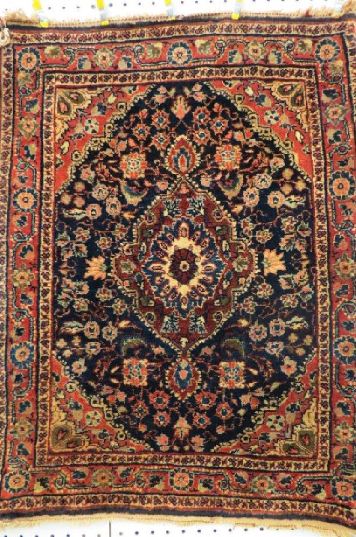 Ferrahan Sarouk Persian Handmade Mat, antique, - 2