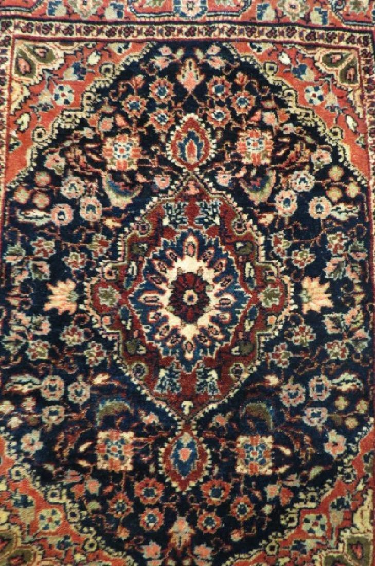 Ferrahan Sarouk Persian Handmade Mat, antique, - 3