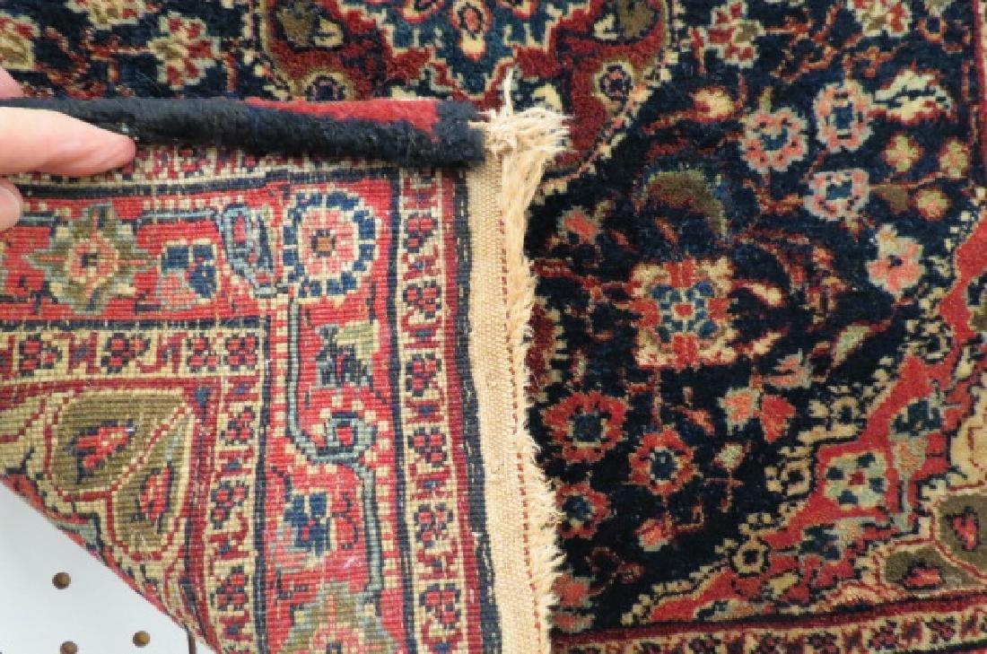 Ferrahan Sarouk Persian Handmade Mat, antique, - 5