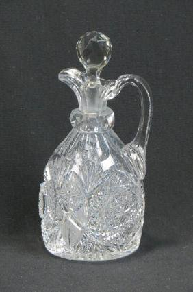 Hoare Cut Glass Jug,