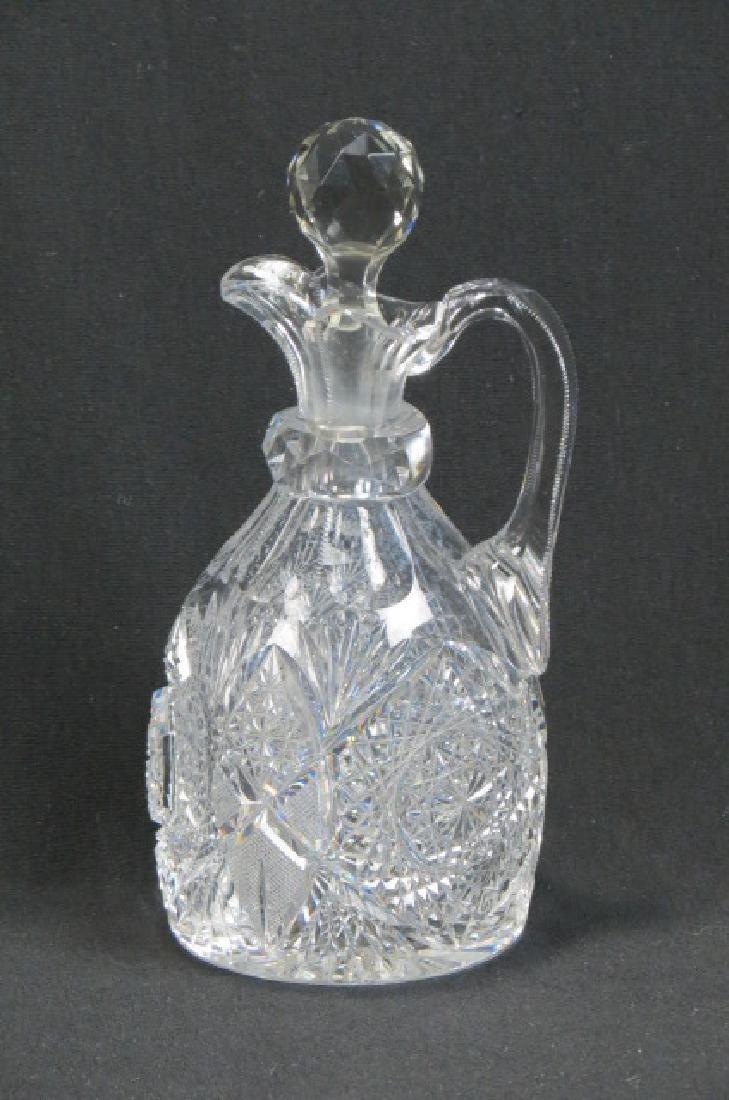 Hoare Cut Glass Jug,
