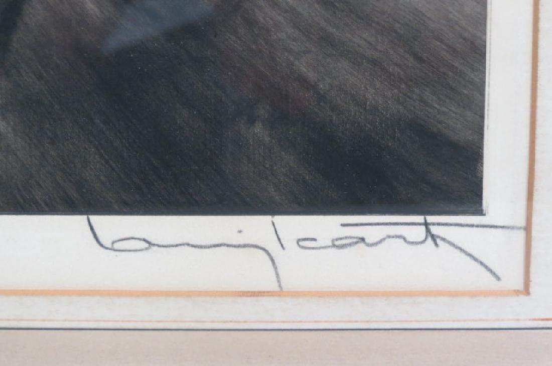 "Louis Icart, etching, ""Coursing III"" - 3"