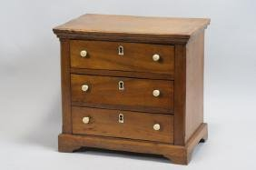 19th Century Doll or Salesman Sample Chest,