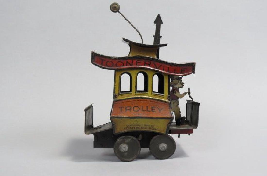Toonerville Trolley Tin Wind-up Toy,