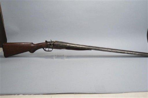 J  Stevens Double Barrel Shotgun,