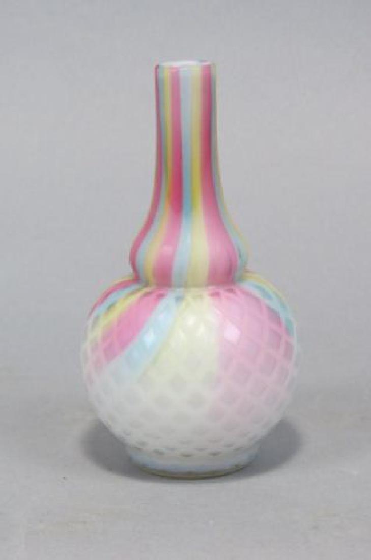 Victorian rainbow satin glass vase rare victorian rainbow satin glass vase reviewsmspy