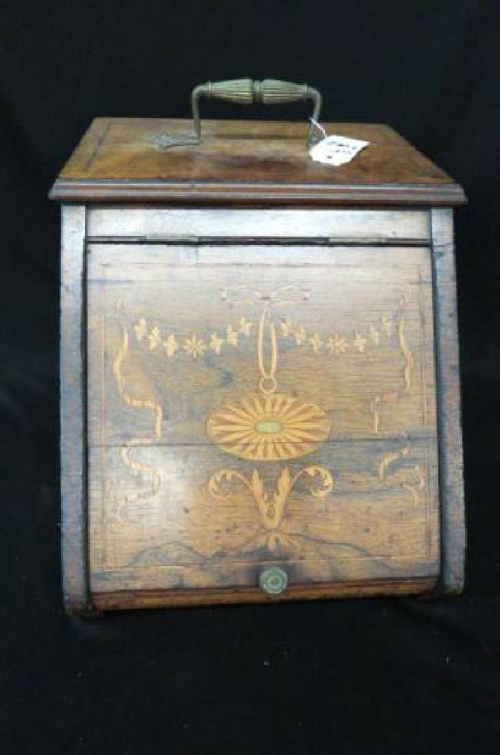 fireplace keeper tender box or coal hod