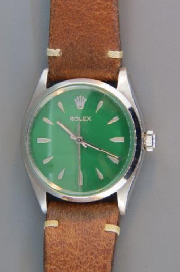 Rolex Man's Stainless Wristwatch,