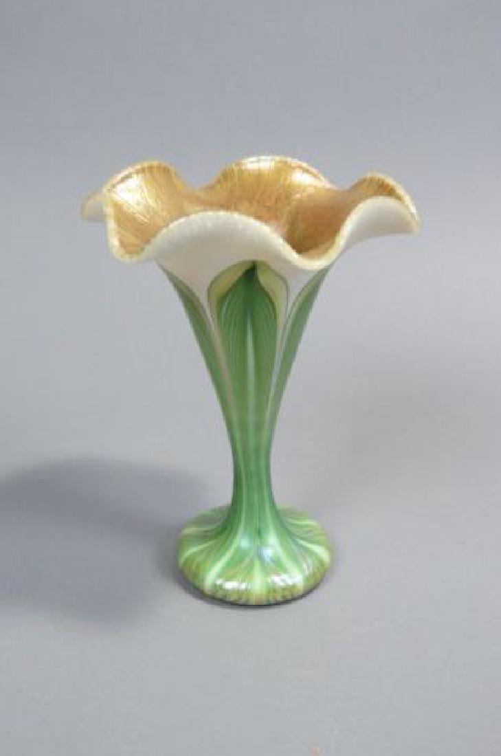 Art glass flower form vase quezal art glass flower form vase reviewsmspy