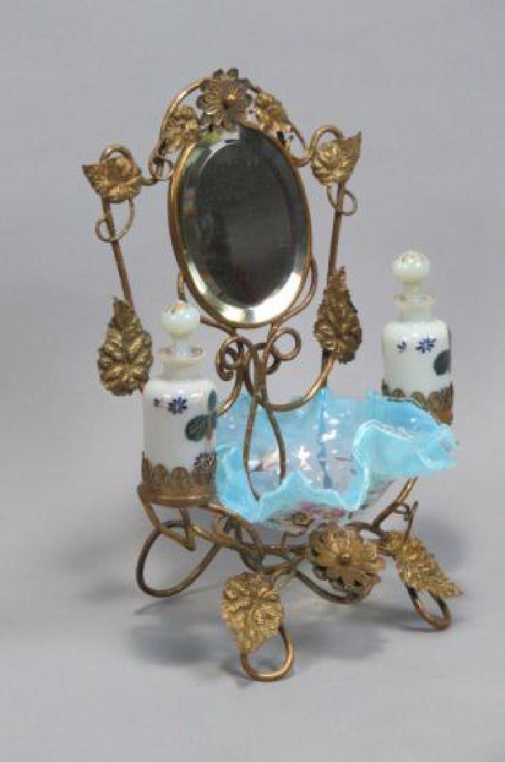 Victorian Dresser Arrangement with Perfumes,