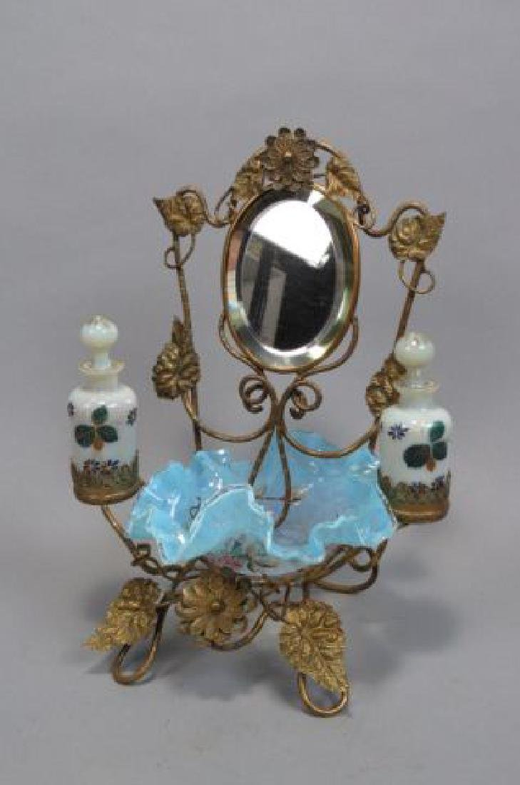 Victorian Dresser Arrangement with Perfumes, - 3