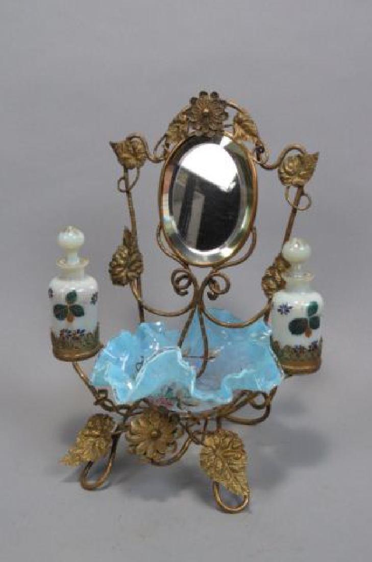 Victorian Dresser Arrangement with Perfumes, - 3
