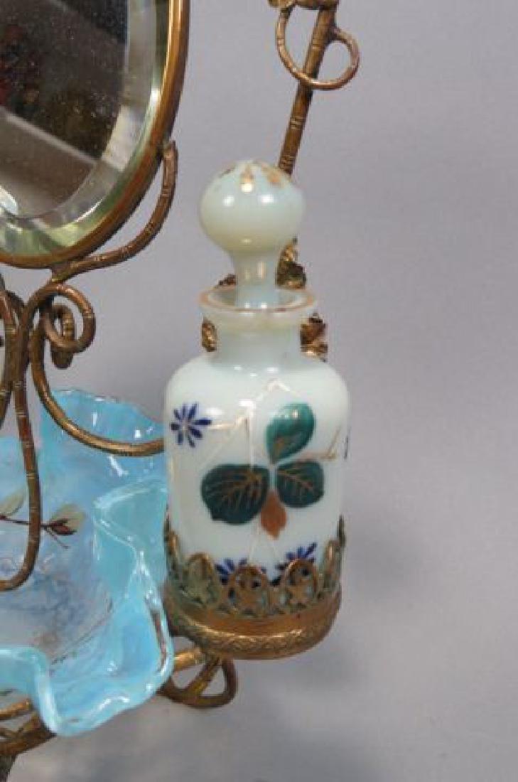 Victorian Dresser Arrangement with Perfumes, - 4