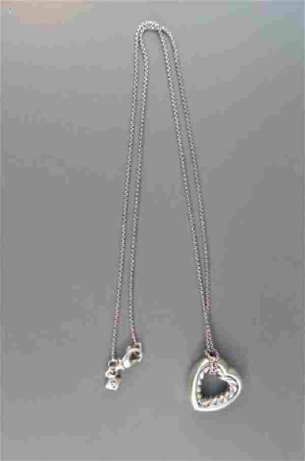 David Yurman 18K Gold & Sterling Necklace,