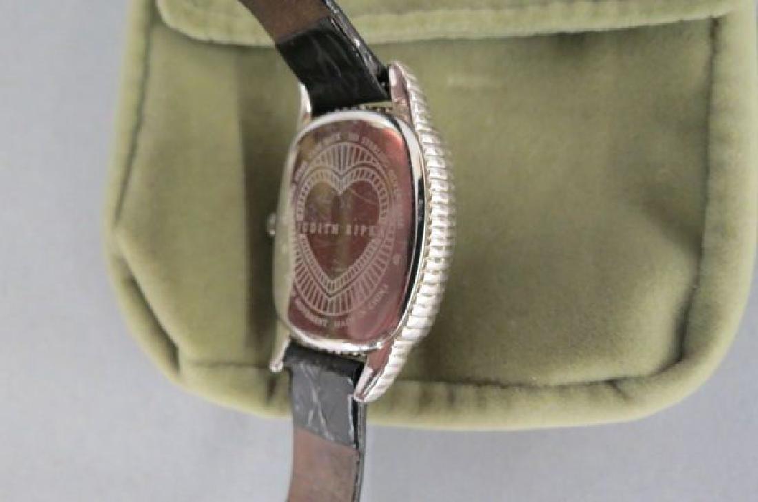 Judith Ripka Sterling Silver Ladies Wristwatch, - 3
