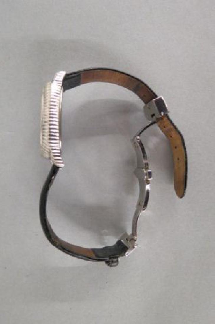 Judith Ripka Sterling Silver Ladies Wristwatch, - 4