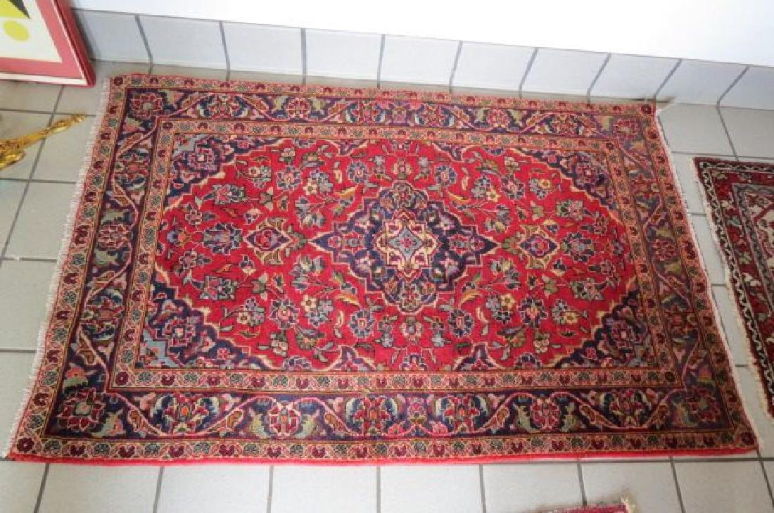 Kashan Persian Handmade Rug,