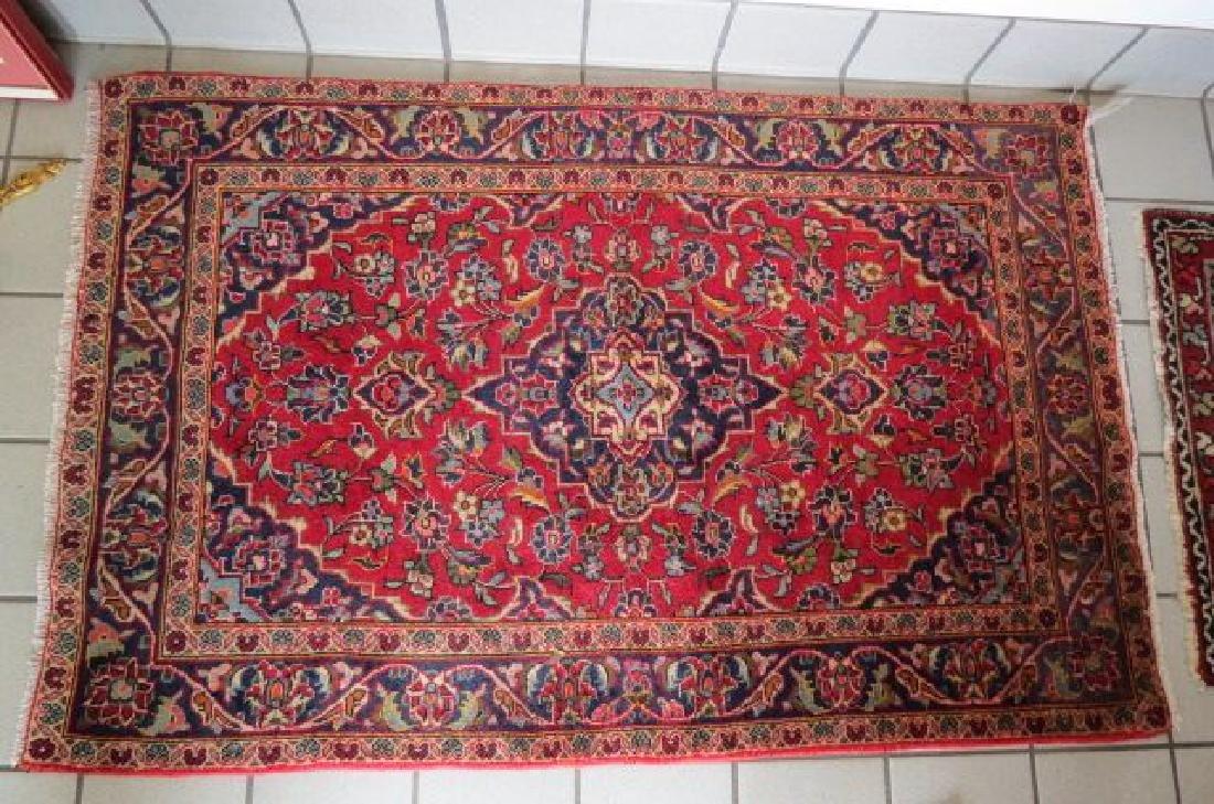 Kashan Persian Handmade Rug, - 2