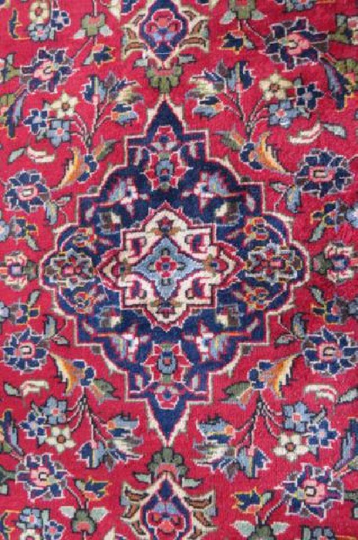 Kashan Persian Handmade Rug, - 4